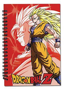 Dragon Ball Z Notebook - Goku Super Saiyan 3