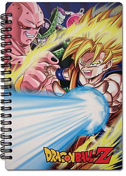 Dragon Ball Z Notebook - SS Goku Vs. Villains