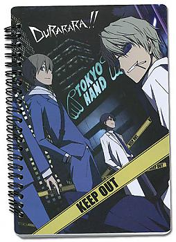 Durarara!! Notebook - Character Line Up