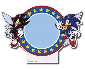 Sonic The Hedgehog Magnet - Shadow and Sonic Pad w/ Dry Erase Marker