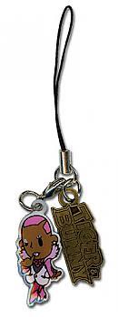Tiger & Bunny Phone Charm - Nathan SD Logo Metal