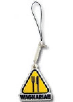 Wagnaria!! (Working) Phone Charm - Triangle Logo