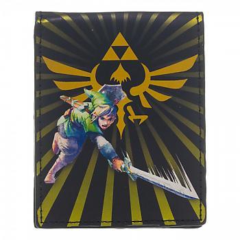 Zelda Bifold Wallet - Skyward Sword Link Slash & Burst