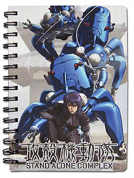 Ghost in the Shell Notebook - SAC Motoko