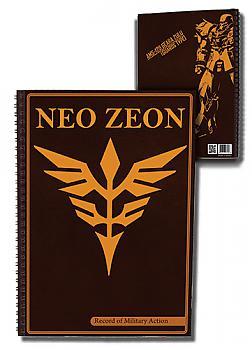 Gundam Notebook - Neo Zeon