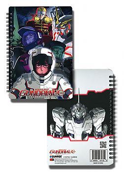 Gundam Unicorn Notebook - Unicorn Cast