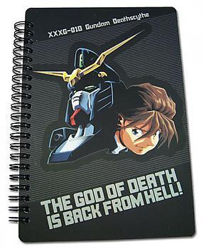 Gundam Wing Notebook - Duo Maxwell Deathscythe