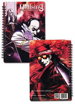 Hellsing Notebook - Alucard, Integra, Walter