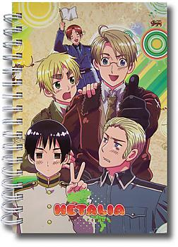 Hetalia Notebook - Group