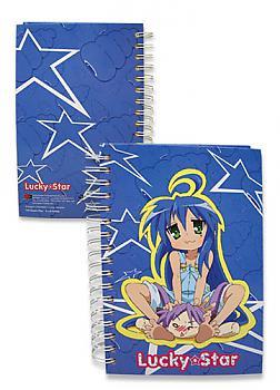 Lucky Star Notebook - Konata Izumi and Kagami Hiiragi
