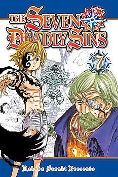 Seven Deadly Sins Manga Vol.   7