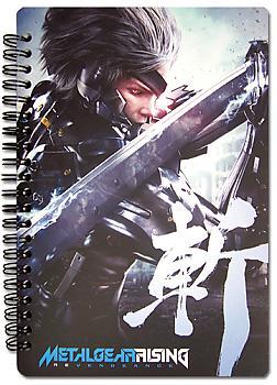 Metal Gear Rising Notebook - Raiden
