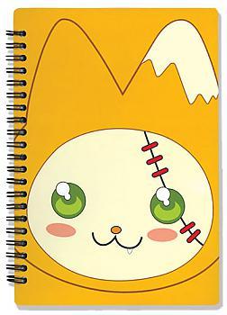 Moon Phase Notebook - Hazuki Cat