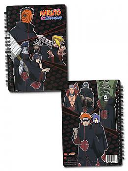 Naruto Shippuden Notebook - Akatsuki