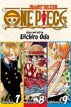 One Piece Omnibus Manga Vol.   3 Chef's Special: The Kick of the Day
