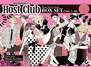 Ouran High School Host Club Box Set Manga Vol. 1-18