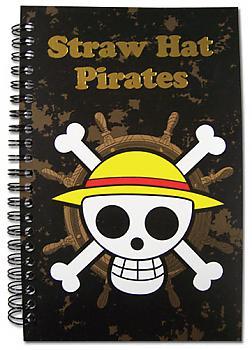 One Piece Notebook - Skull