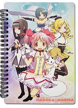 Puella Magi Madoka Magica Notebook - Key Art