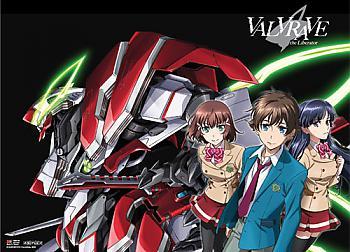 Valvrave the Liberator Fabric Poster - Haruto, Shoko and Saki [LONG]