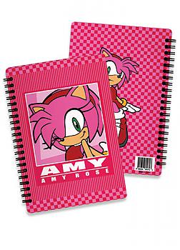 Sonic Notebook - Amy