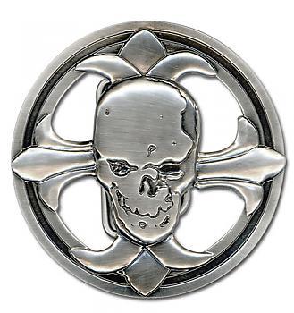 Death Note Belt Buckle - Skull
