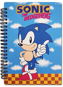 Sonic The Hedgehog Notebook - Sonic