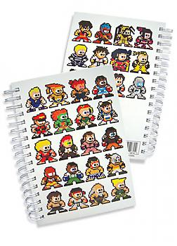Street Fighter IV Notebook - 8-Bit