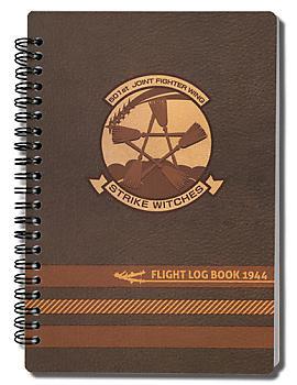 Strike Witches Notebook - 501st Flight Log