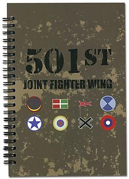 Strike Witches Notebook - Flags