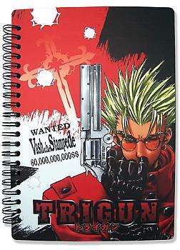 Trigun Notebook - Vash