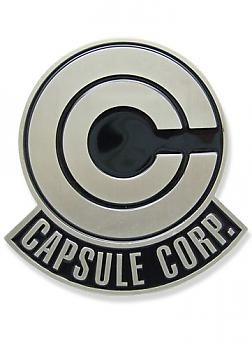 Dragon Ball Z Belt Buckle - Capsule Corp