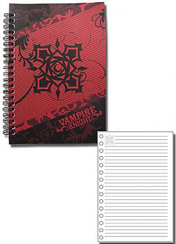 Vampire Knight Notebook - Rose Cross Logo