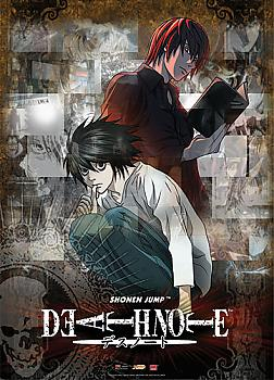 Death Note Wall Scroll - Light and L