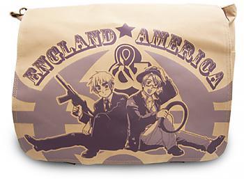 Hetalia Messenger Bag - England and America
