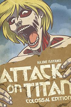 Attack on Titan: Colossal Edition Volume 2 (Manga)