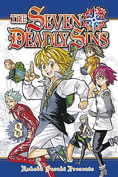 Seven Deadly Sins Manga Vol.   8