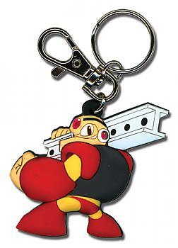 Mega Man Powered Up Key Chain - Gustman