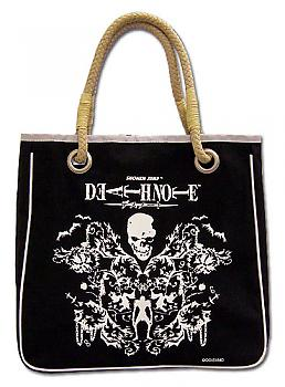 Death Note Tote Bag - Ryuk and Skull