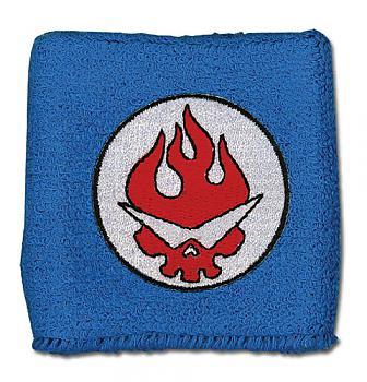 Gurren Lagann Sweatband - Blue Team Gurren