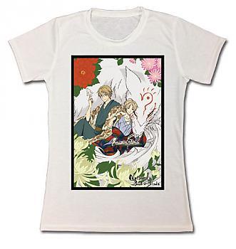 Natsume's Book Of Friends T-Shirt - Takashi, Natori, & Madara (Junior XL)
