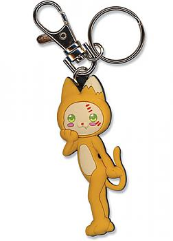 Moon Phase Key Chain - Cat