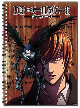 Death Note Spiral Notebook - Light & Ryuk