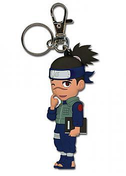 Naruto Key Chain - Chibi Iruka (Book/Scratching)