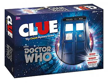 Doctor Who Board Games - Clue Collector's Edition