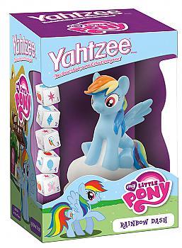 My Little Pony Rainbow Board Games - Rainbow Dash Yahtzee Collector's Edition