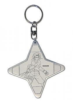 Naruto Key Chain - Shuriken Shape Sasuke