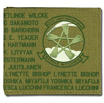 Strike Witches Wallet - 501st Emblem Vintage Style