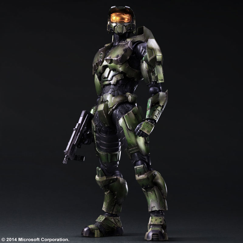 Halo 2 Play Arts Kai Action Figure Master Chief Anniversary Edition Archonia Us