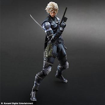Metal Gear Solid 2 Play Arts Kai Action Figure - Raiden