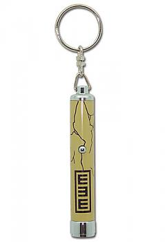 Naruto Shippuden Key Chain - Gaara Symbols Flashlight